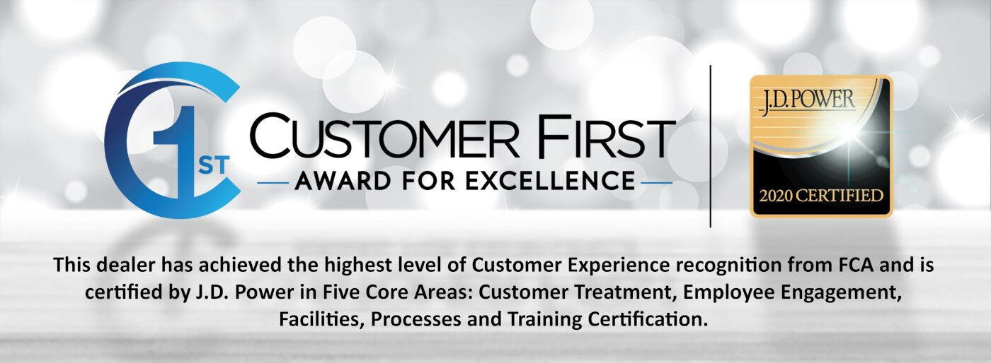 Customer First Award