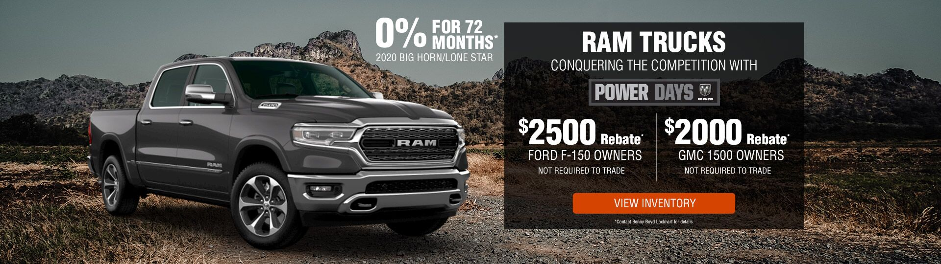 RAM Conquest Ford and GMC