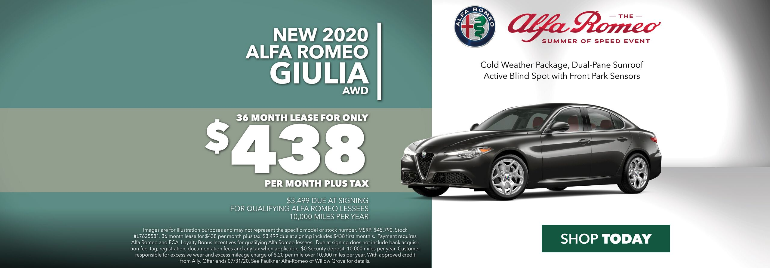 Lease a New Alfa Romeo Giulia