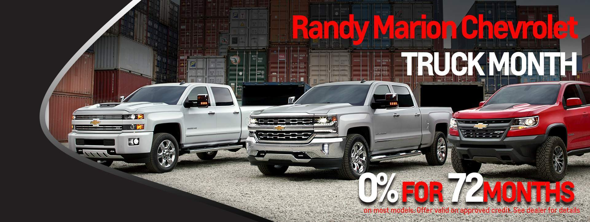 Chevrolet Truck Month - View Our Silverado Inventory