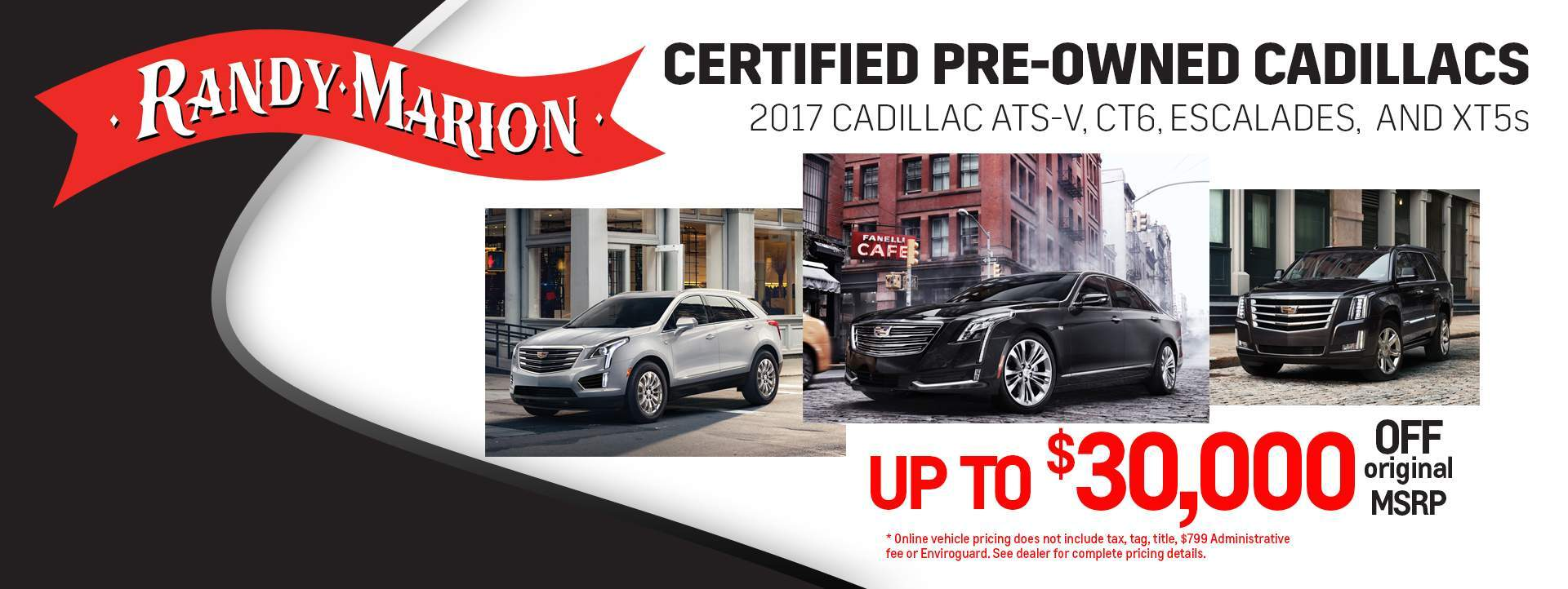 Randy Marion Certified Pre-Owned Cadillacs