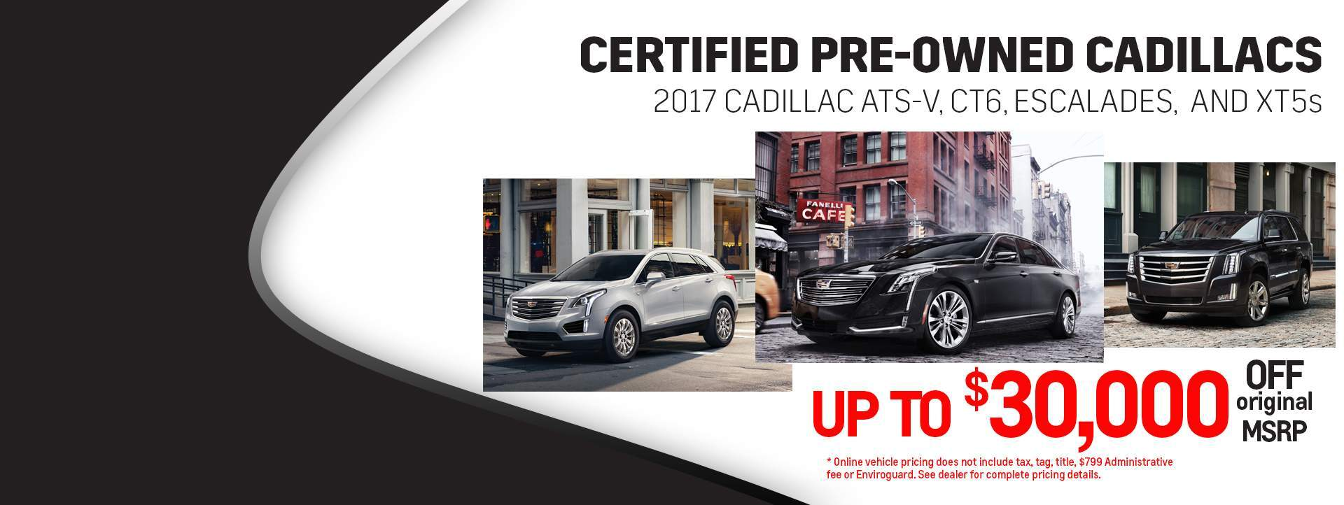 Certified Pre-Owned Cadillacs