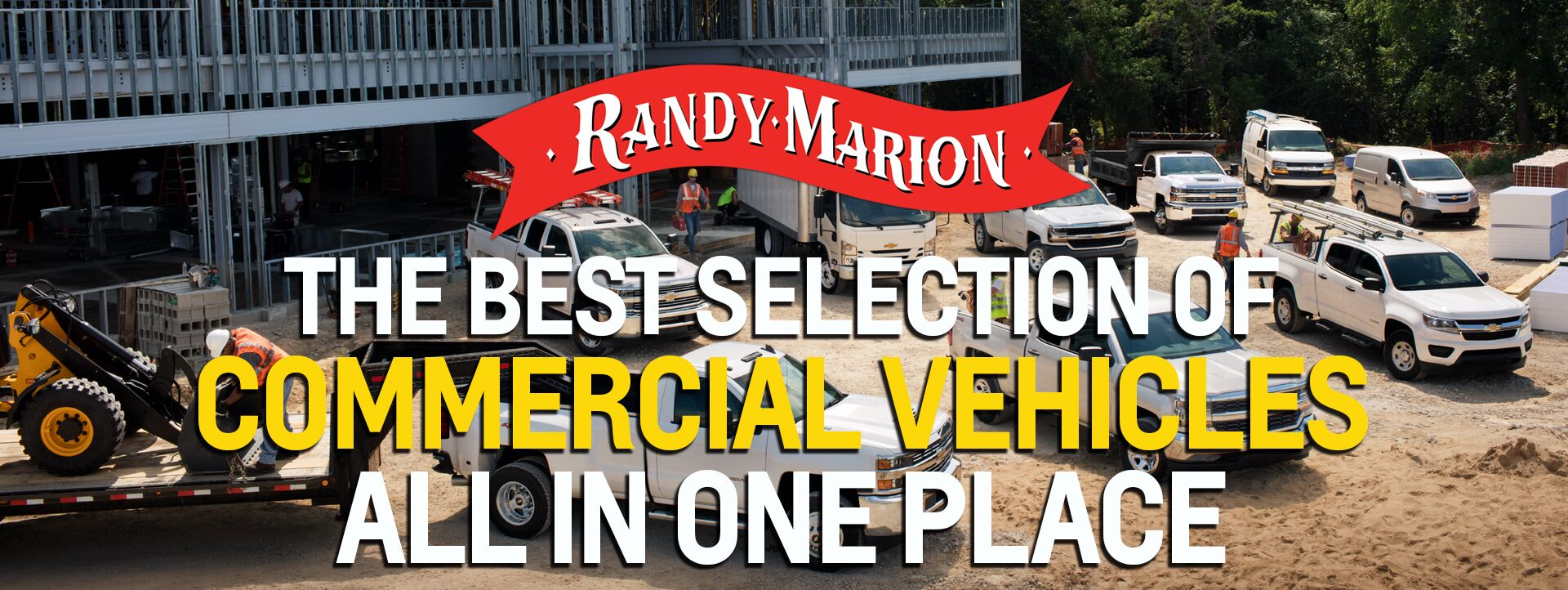 Randy Marion has the Work Trucks!