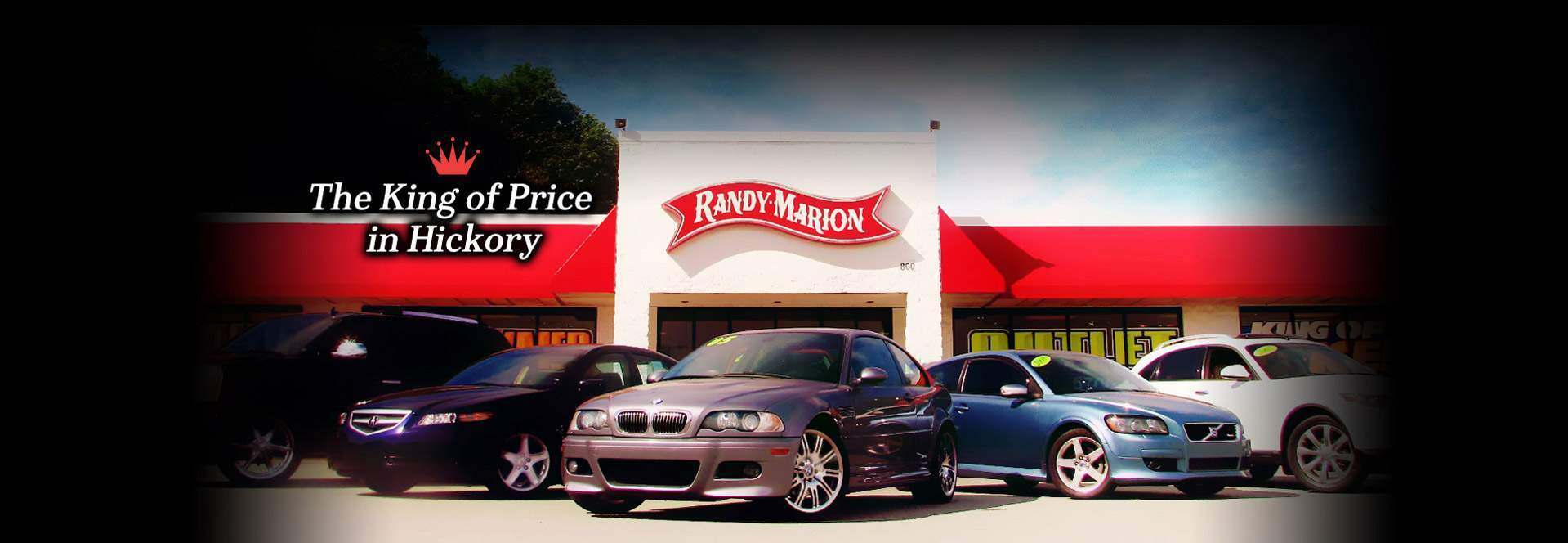 dealership hickory nc used cars randy marion sav a lot. Black Bedroom Furniture Sets. Home Design Ideas