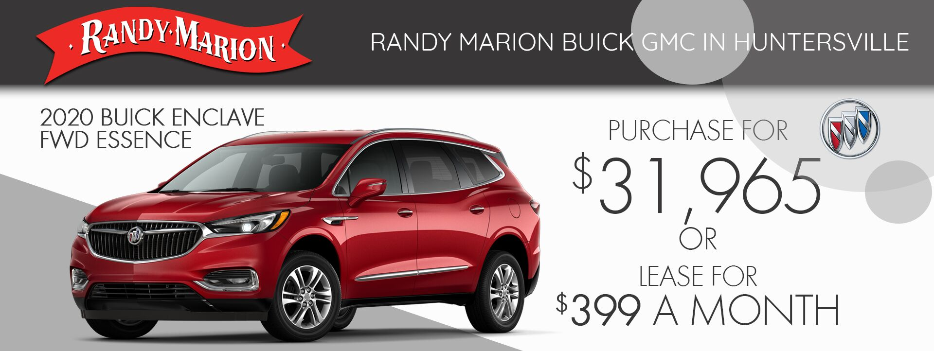 Buick Enclave Lease Special
