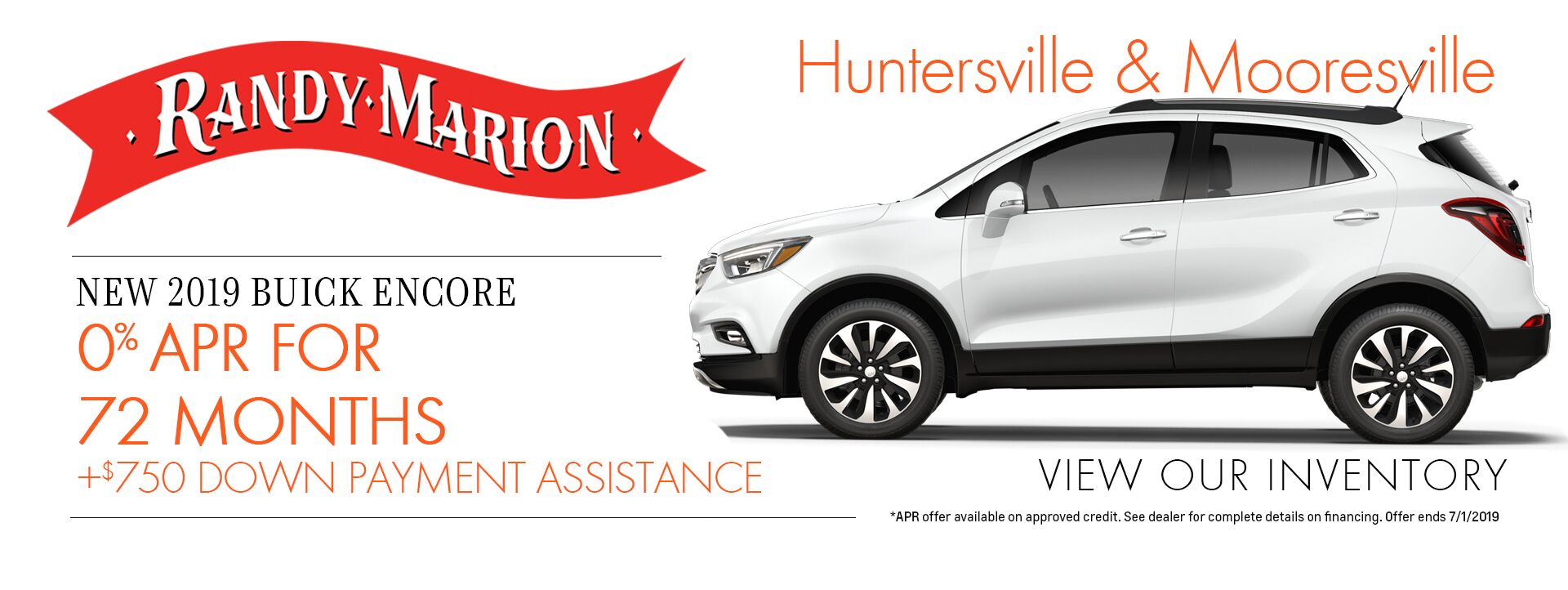 Buick Encore Special Offer