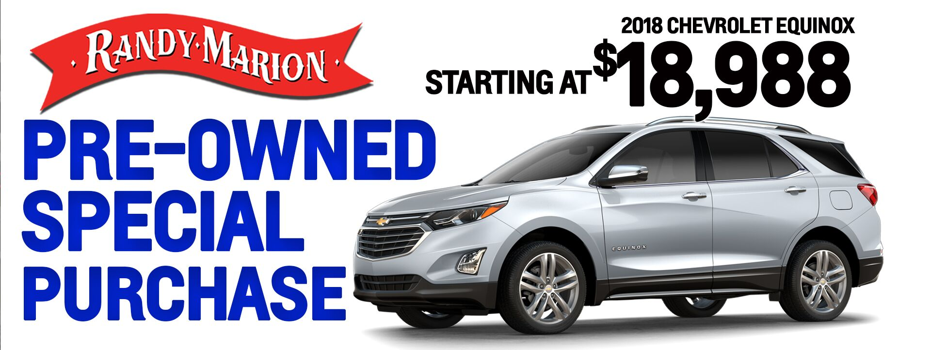 Pre Owned Equinox Sale