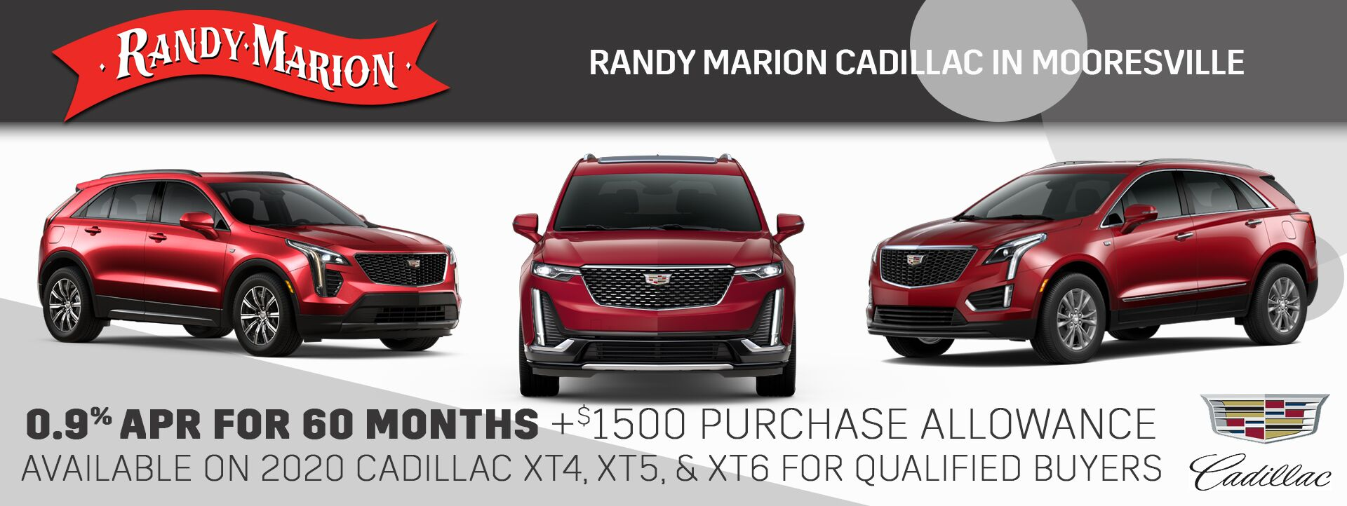 September Cadillac APR Offer