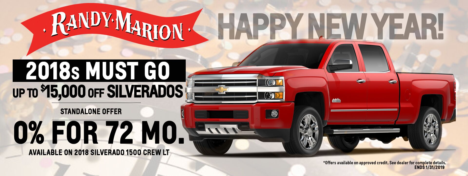 Happy New Year Chevrolet