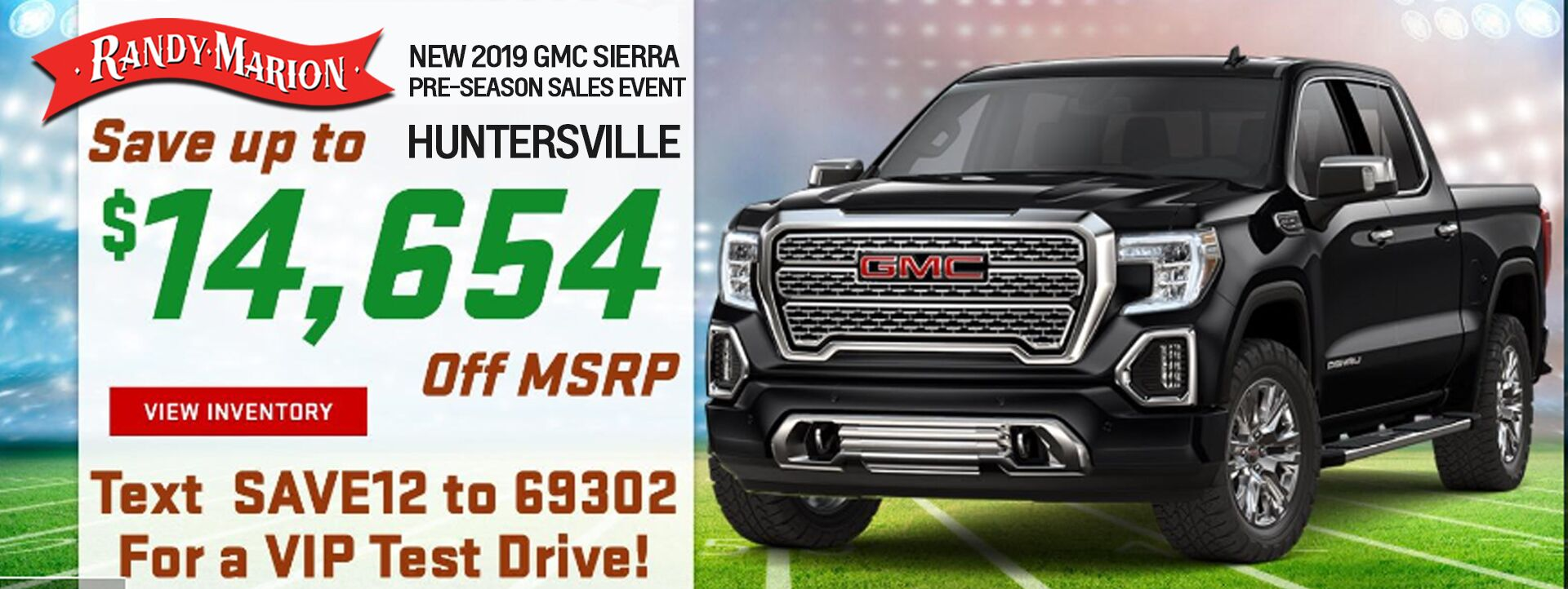 August GMC Sierra Offer