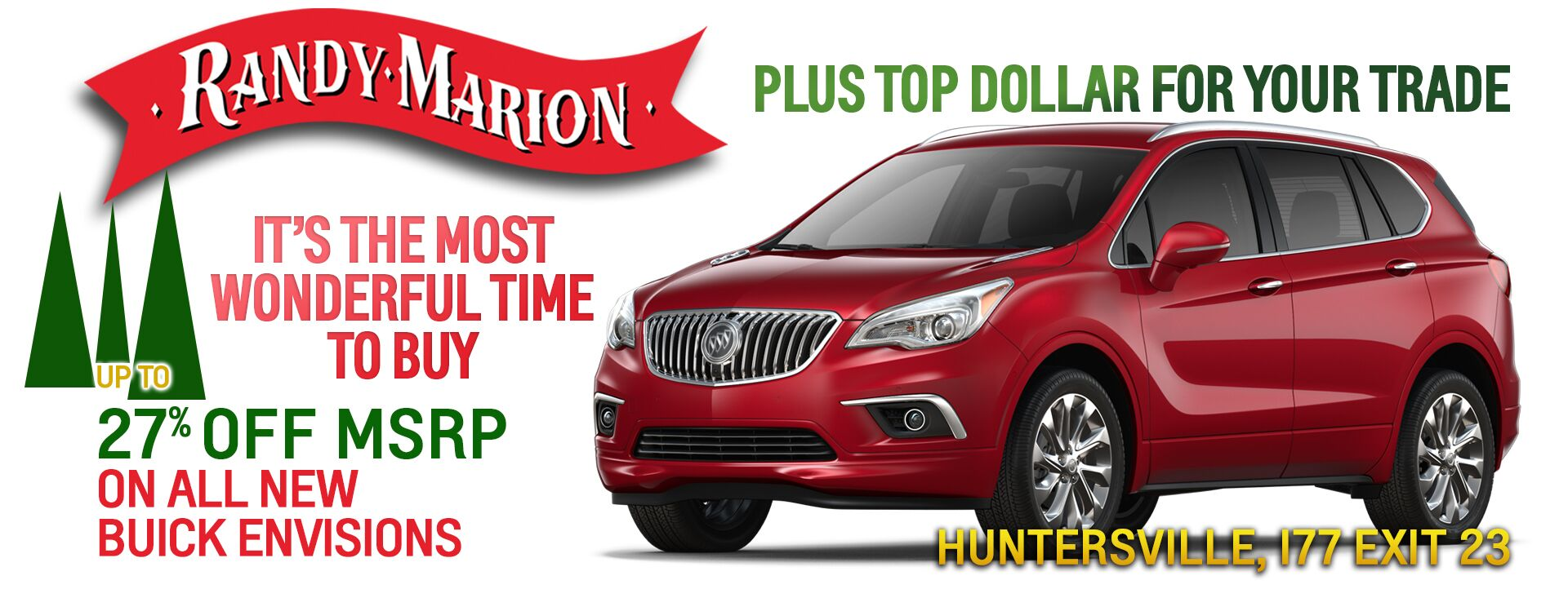 December Buick Envision