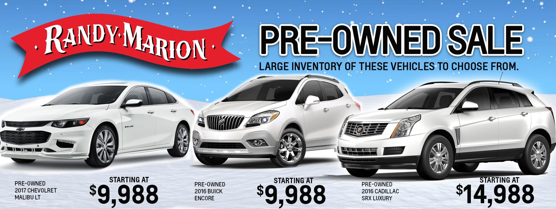 Pre-Owned Winter Special