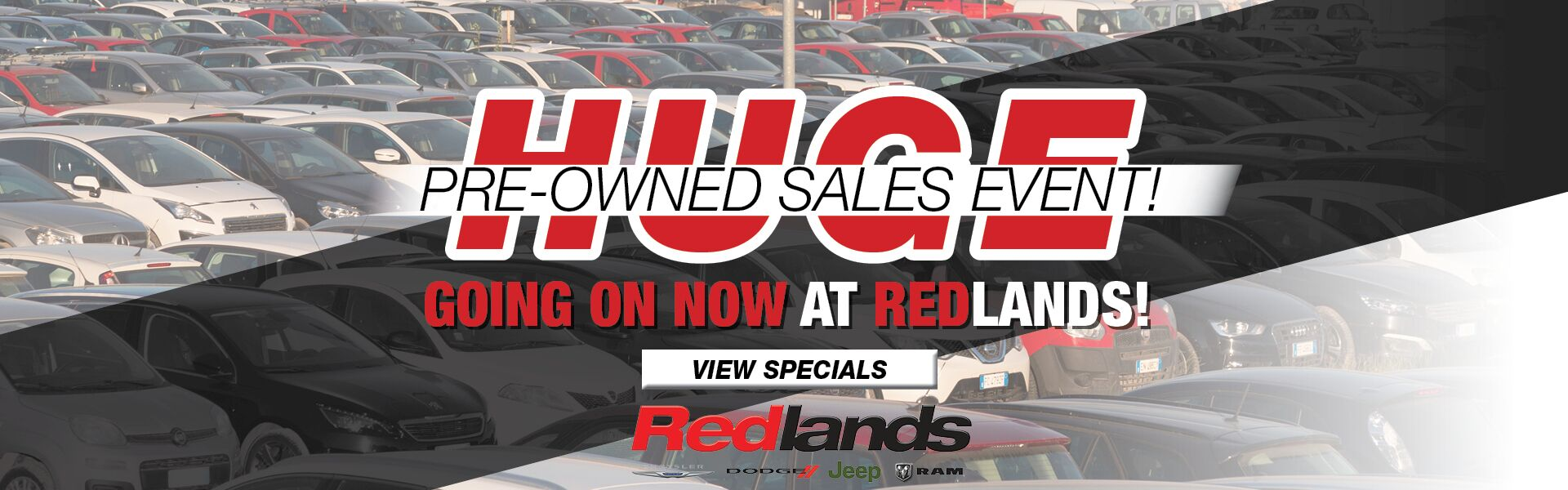 Huge Pre-Owned Sales Event