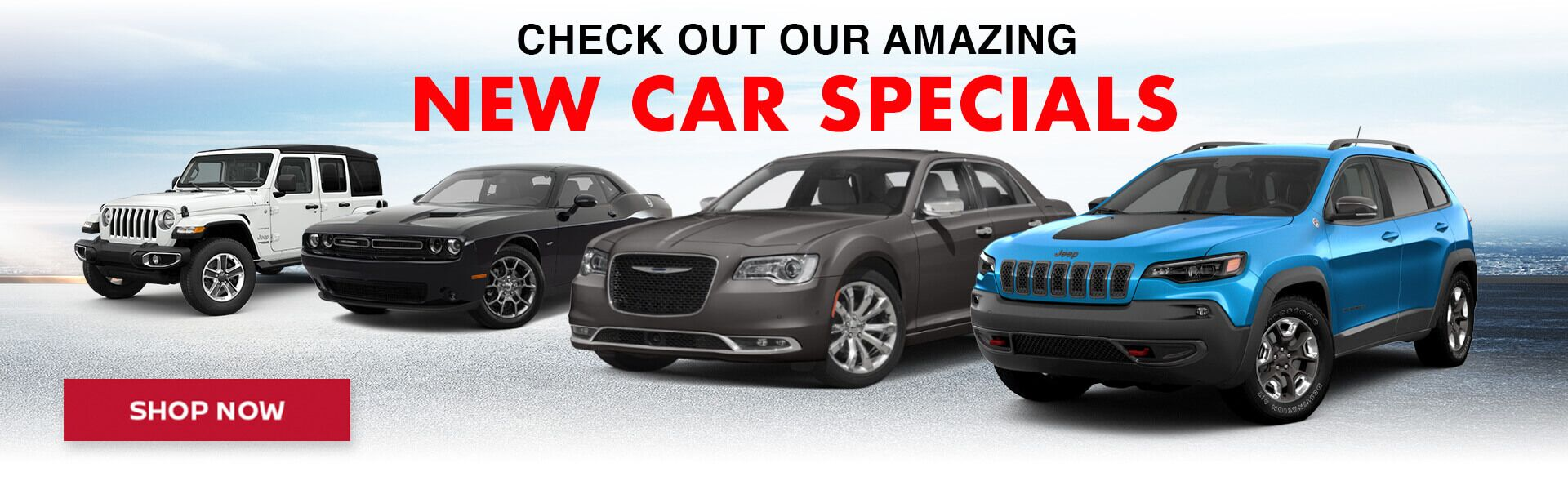 Check out our amazing new car specials