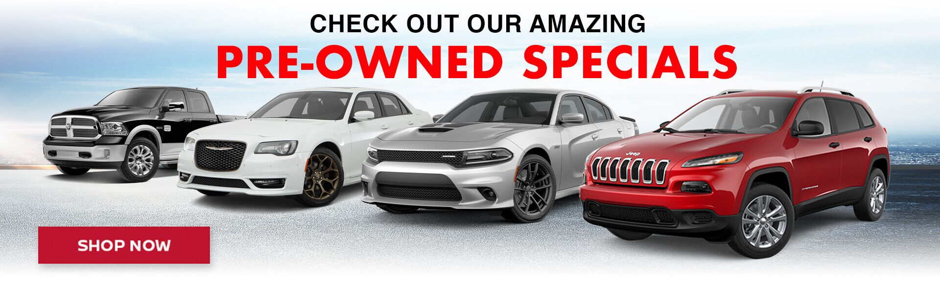 Check out our amazing pre-owned specials