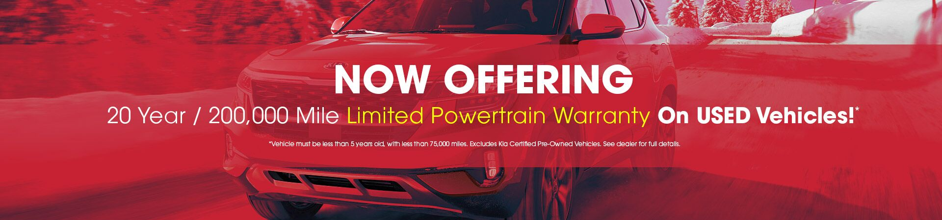 Limited Powertrain Warranty