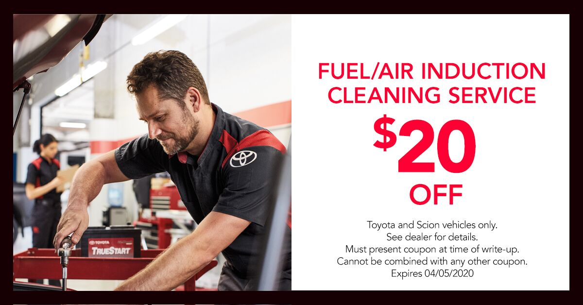 Fuel Air Induction Cleaning Service  Offer