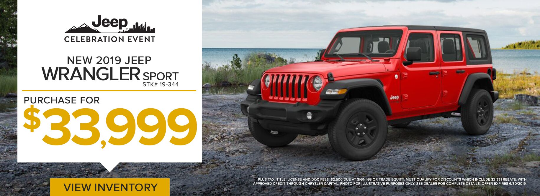 June Wrangler Offer