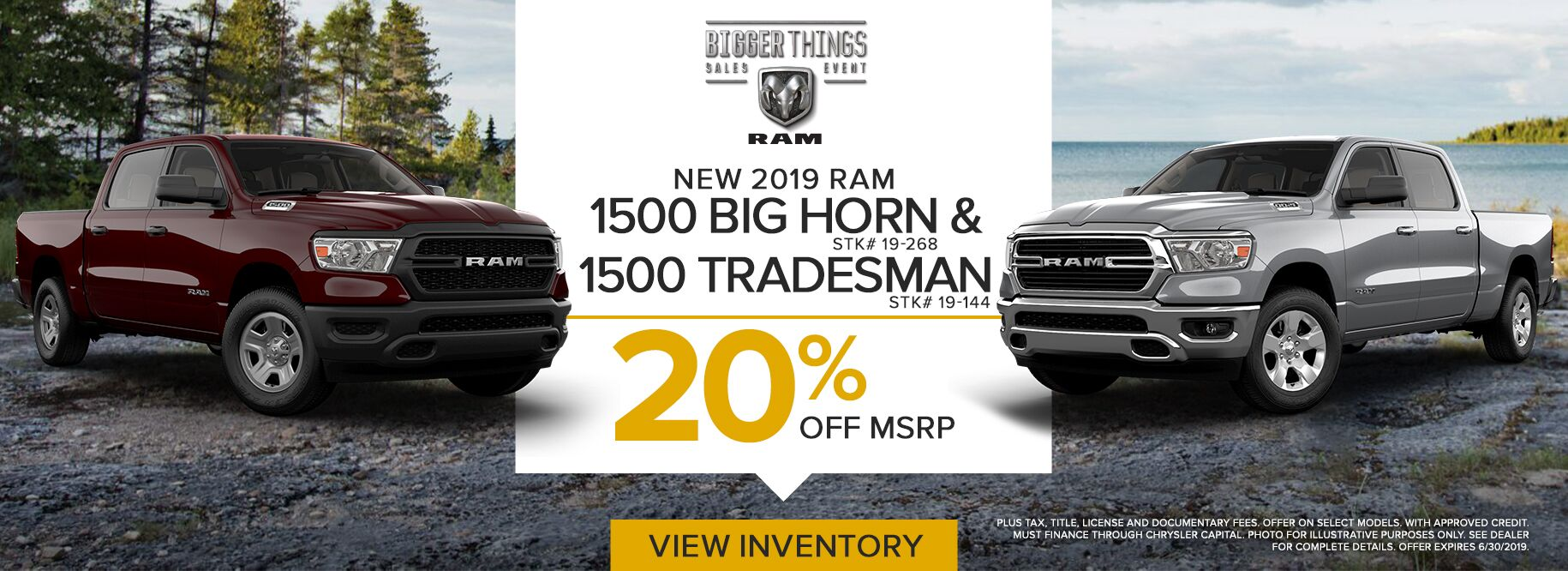 June RAM 1500 Offer