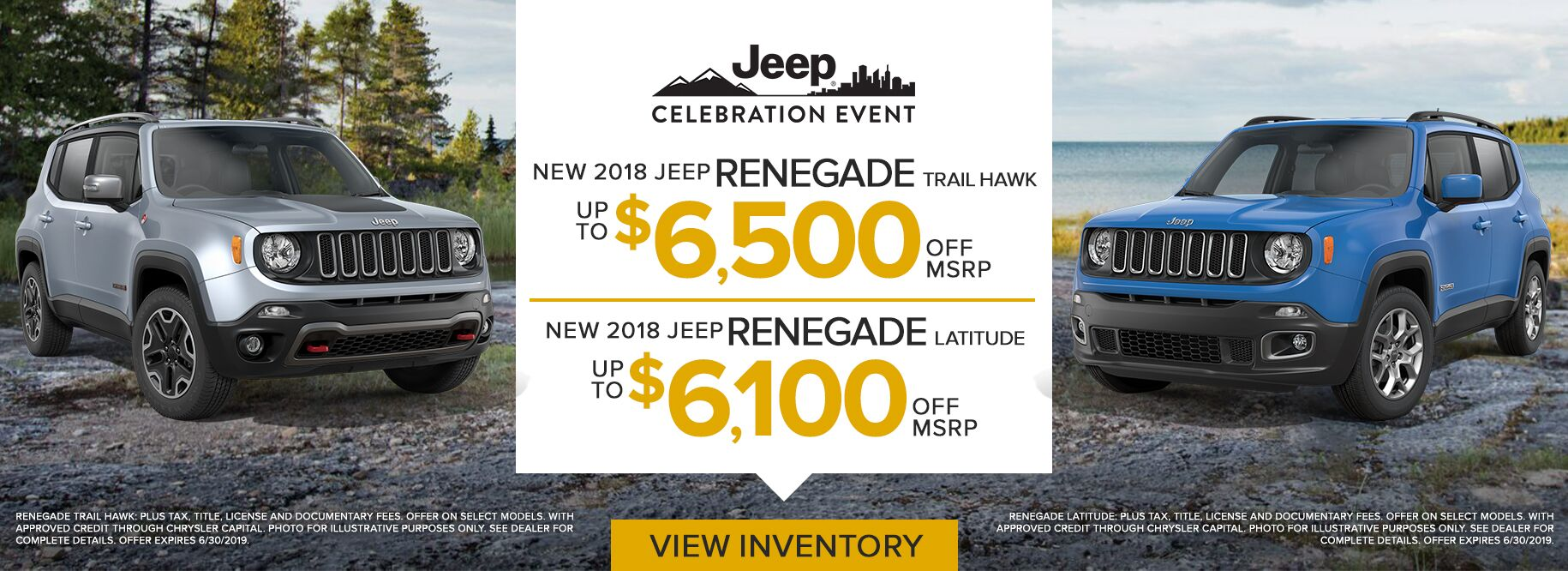June Renegade Offer