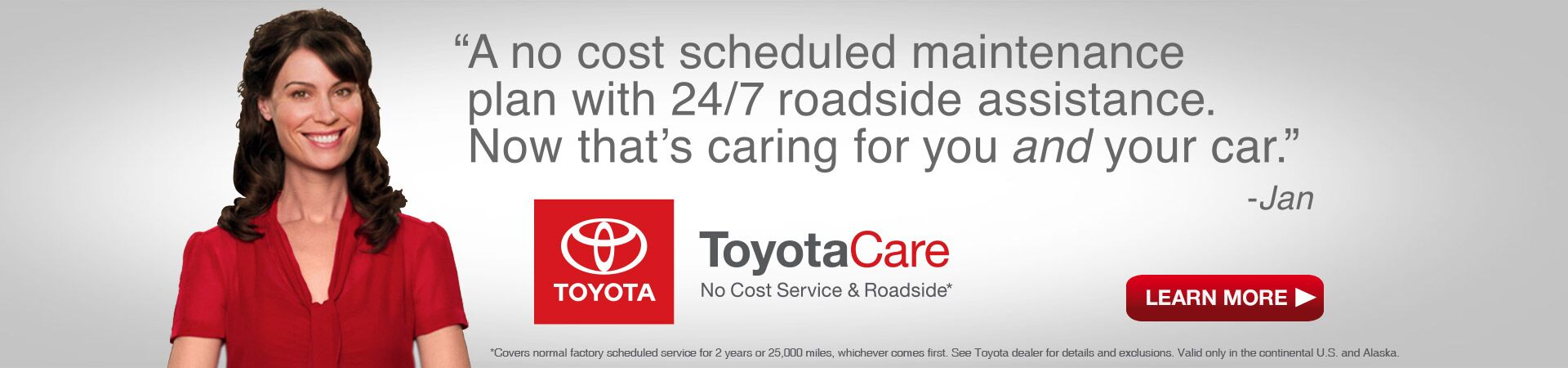 Learn More About ToyotaCare.
