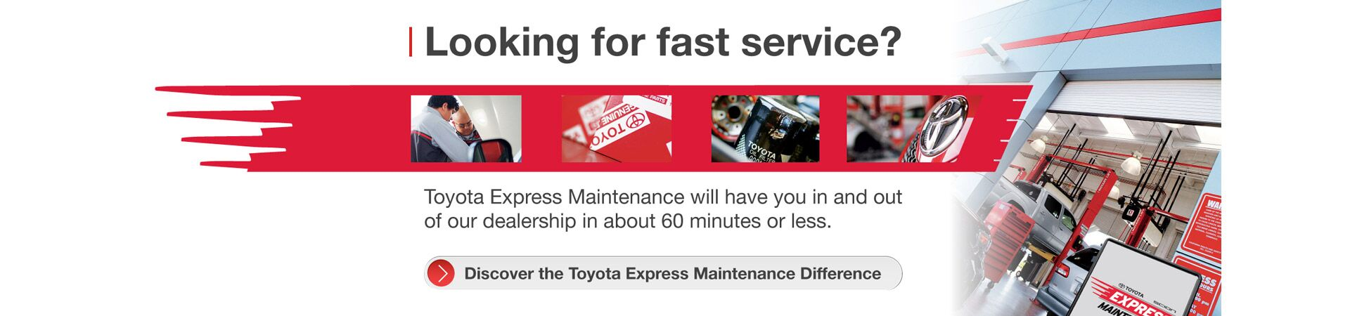 Learn More About Toyota Express Maintenance.
