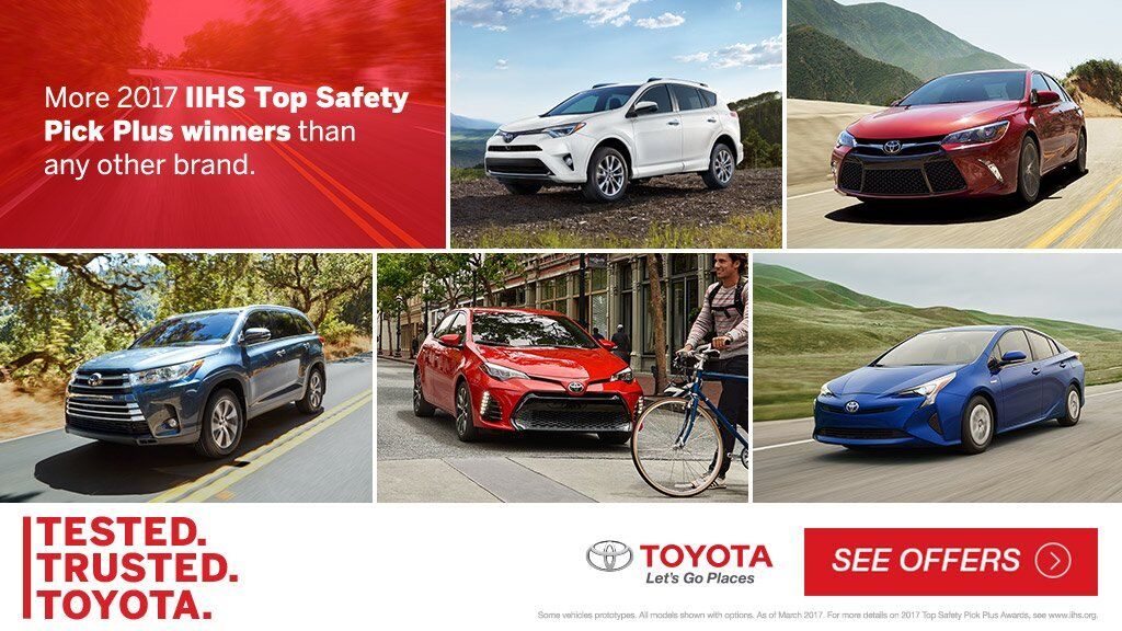 Test Trusted Toyota Top Safety Pick