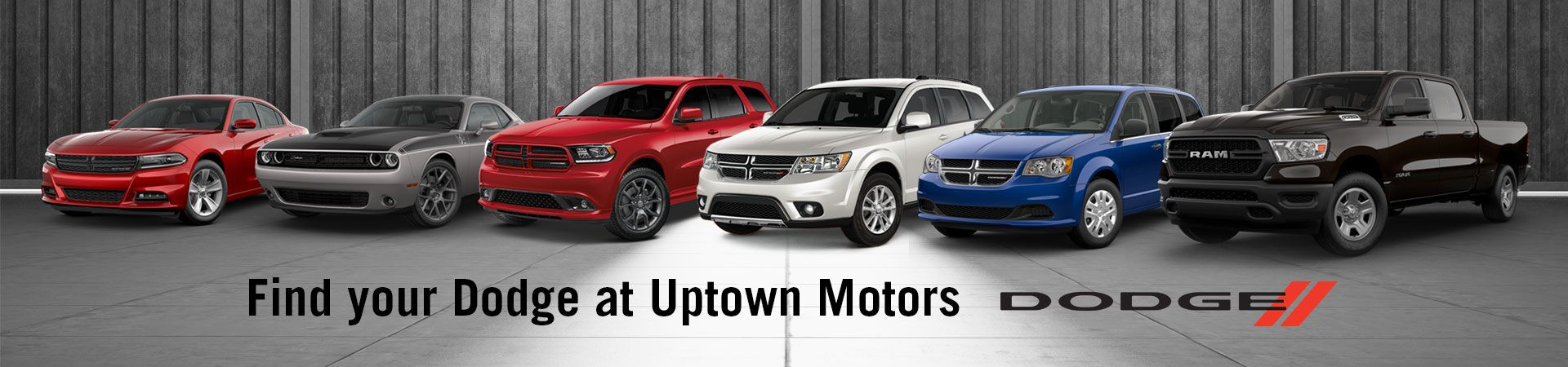 Find Your Dodge Here at Uptown Motors