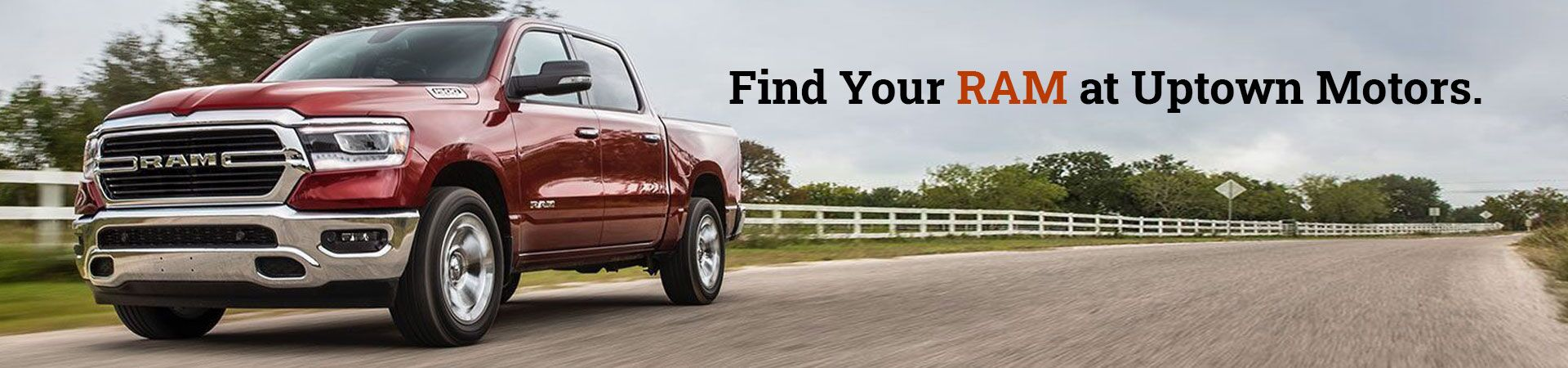 Find Your Ram Here at Uptown Motors
