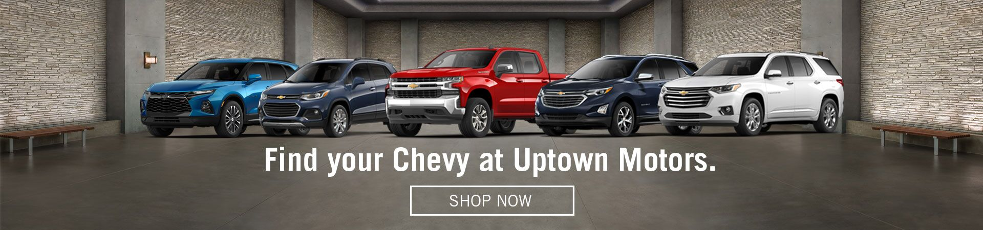 Find Your Chevy Here at Uptown Motors