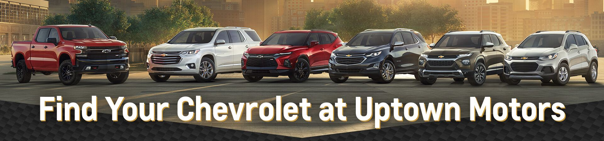 Find Your Chevrolet Here at Uptown Motors