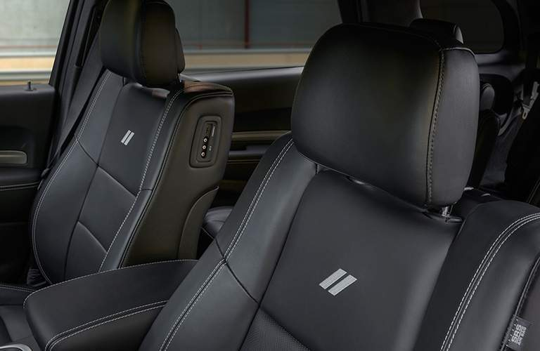 Front seats of the 2018 Dodge Durango