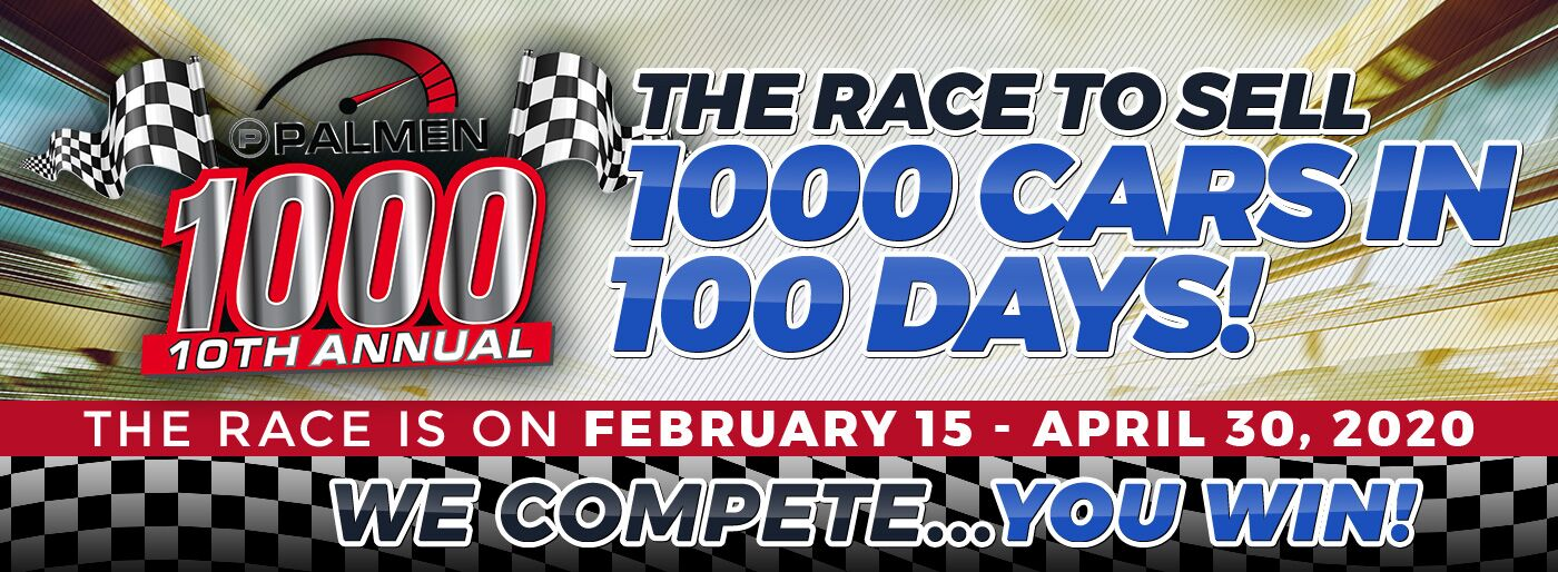 1000 vehicles in 100 days!