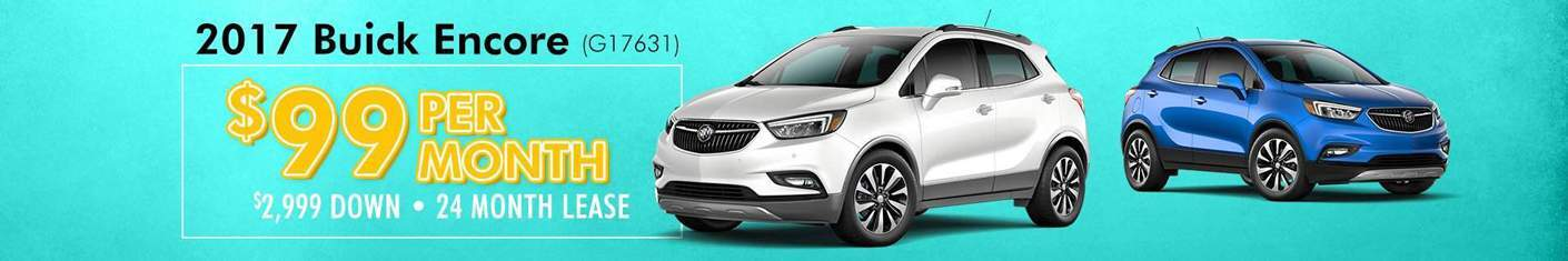 2017 Buick Encore new