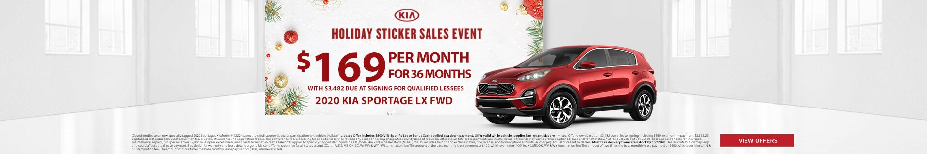 Holiday Stickers Sales Event Sportage