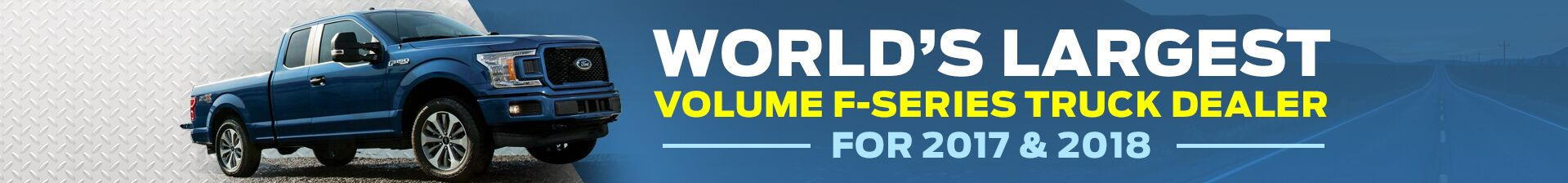 Worlds Largest Volume F-Series