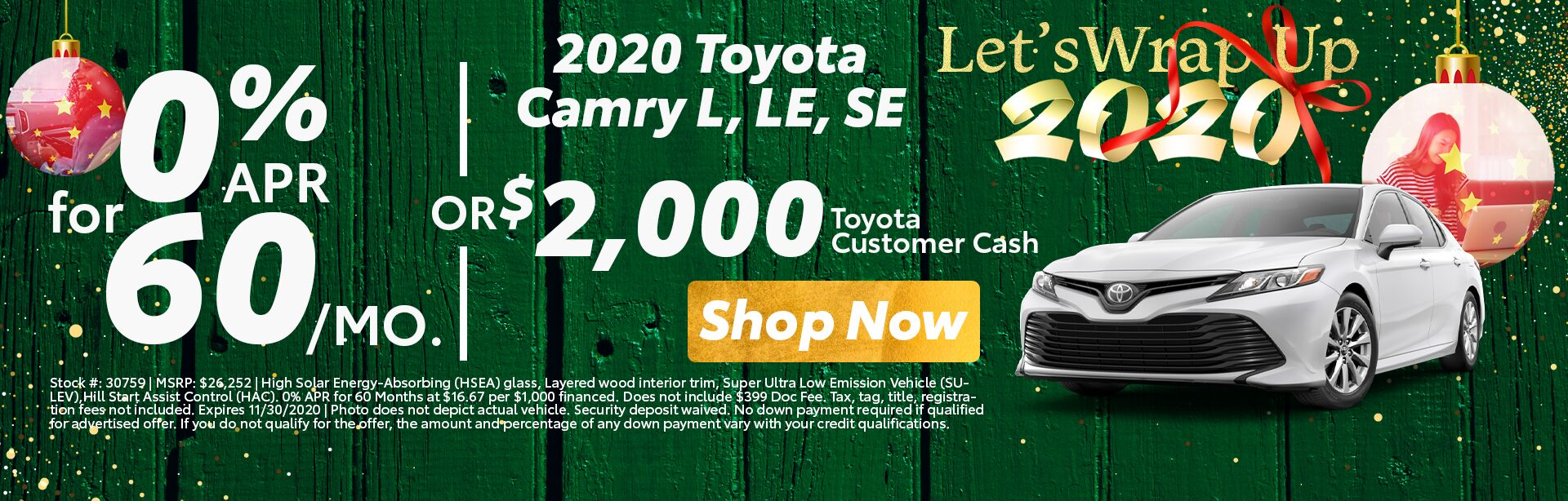 2020 Camry deals near me, Grand Junction CO