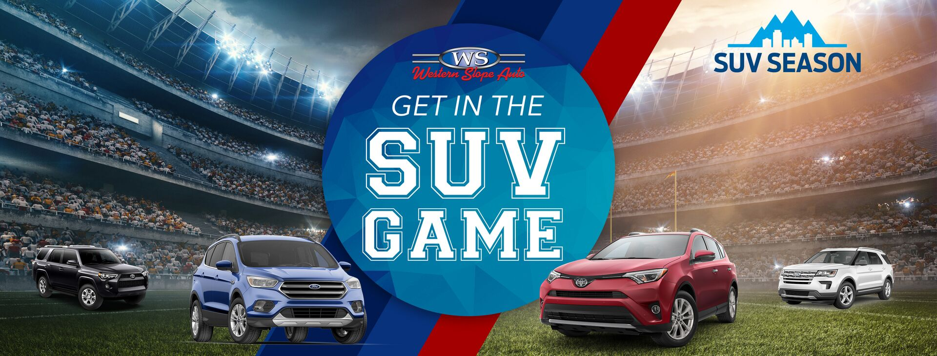 Get in the SUV Game with Western Slope Auto!