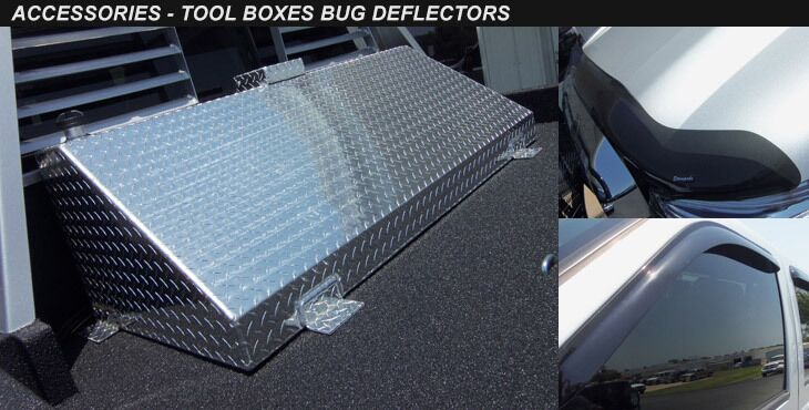 Tool Boxes and Bug Deflectors