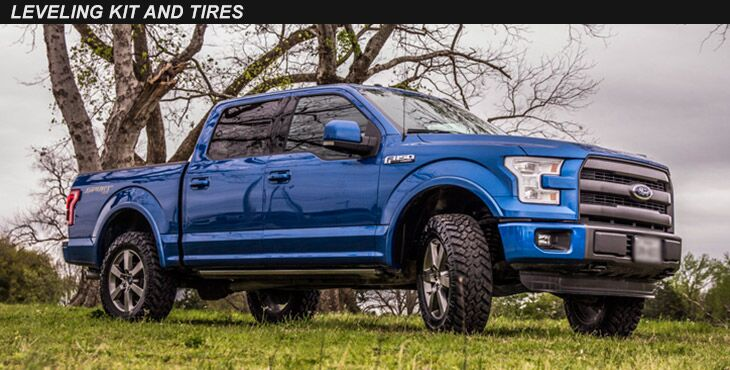Leveling Kits and Tires