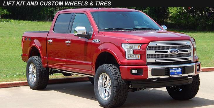 Lift Kit and Custom Wheels & Tires