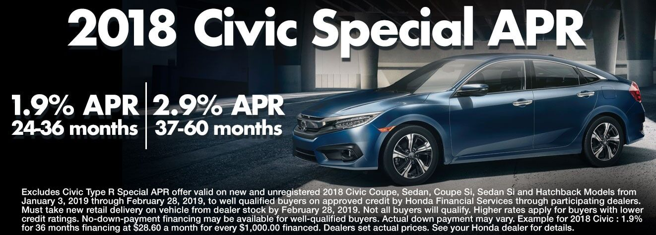2018 Civic Special APR