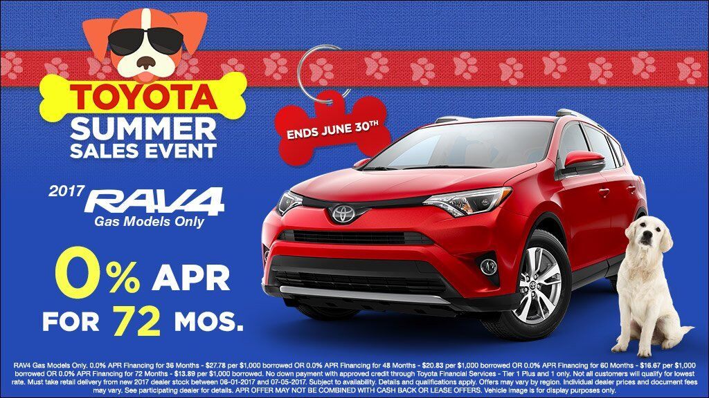 "Summer Sales Event Rav4 APR"" – Set to expire June 30th Link to New Rav4 Inventory"