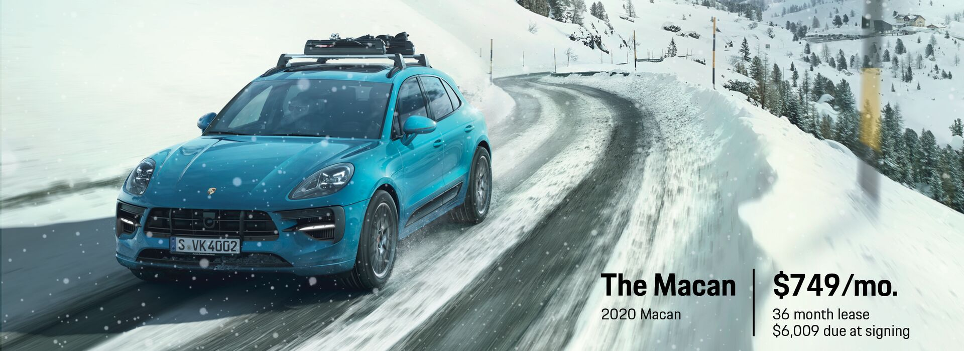 December Lease Deal 2020 Macan