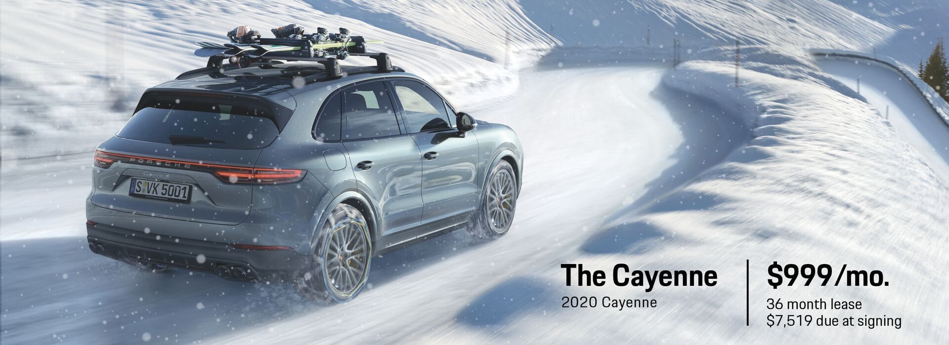 December Lease Deal 2020 Cayenne