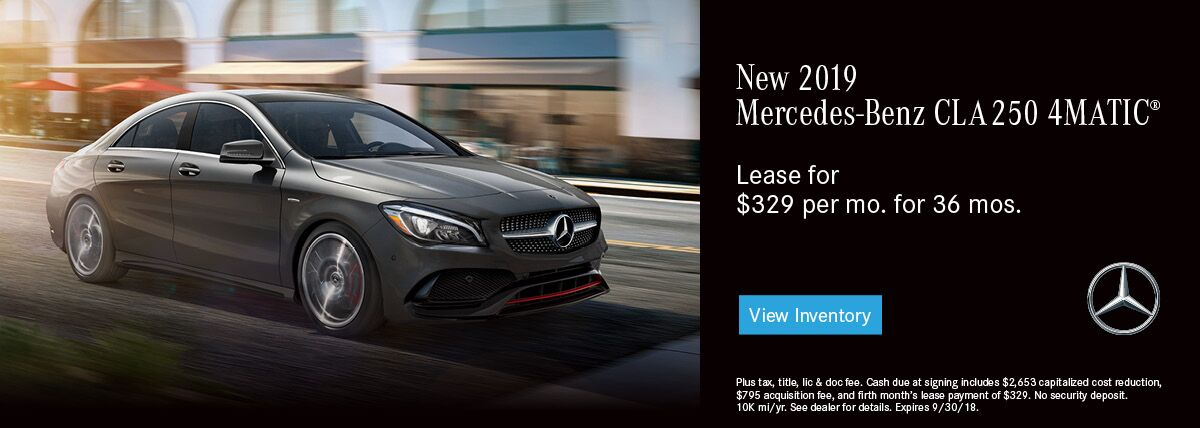 Mercedes-Benz CLA 250 4MATIC® COUPE