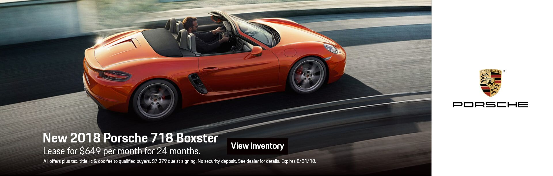 Boxster July Specials