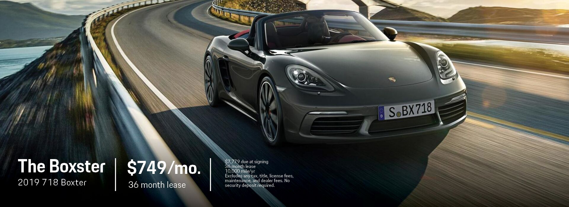 718 Boxster Banner