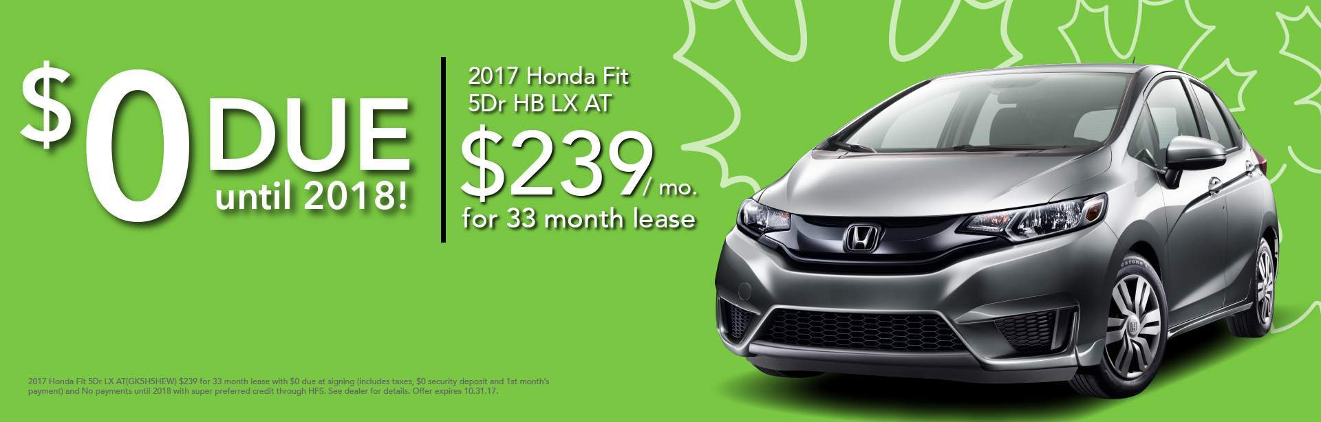 Honda Fit Lease