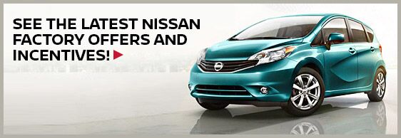 Current Nissan Incentives